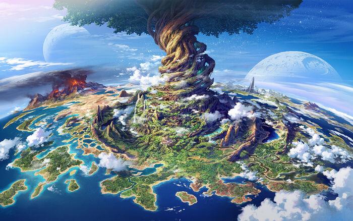 Etrian Odyssey Background