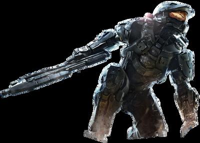 Halo 4 Master Chief (Render)