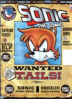 Tails is wanted