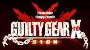 Guilty Gear Xrd Sign Original Soundtrack - Flash Hider (Chipp Zanuff theme)