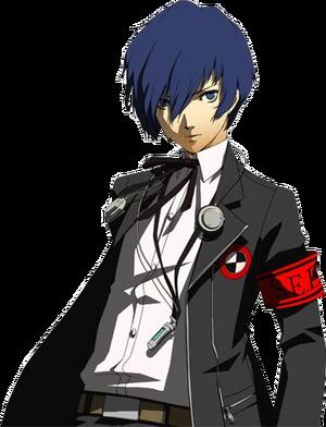Persona 3 minato arisato all out battle render by sieghartelsy-d7oj22c