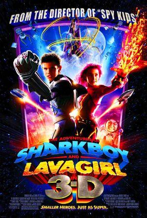 SHARKBOY AND LAVAGIRL