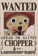 Tony Tony Chopper's Wanted Poster
