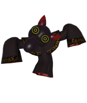 Unhooded Corrupt Hyness model-Kirby Star Allies