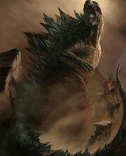 Godzilla-art-fanart