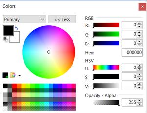 ColorWindowExpanded