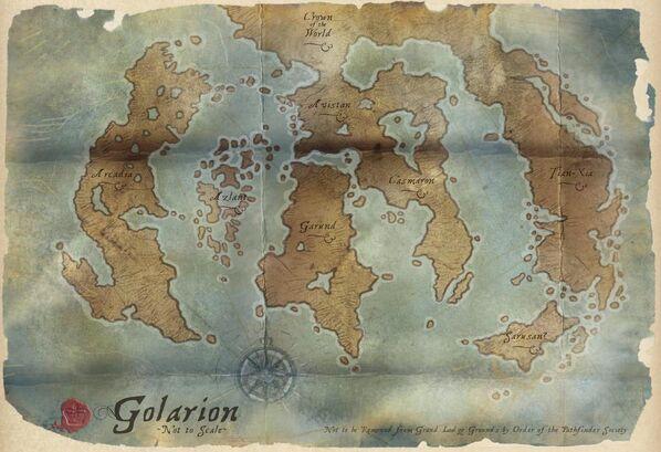 Pathfinder Golarion