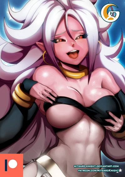 Patreon dragon ball fighterz android 21 a by mitgard knight-dc4p4qn