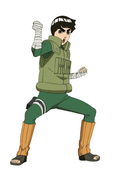 Rock lee render by xuzumaki-d498vf7
