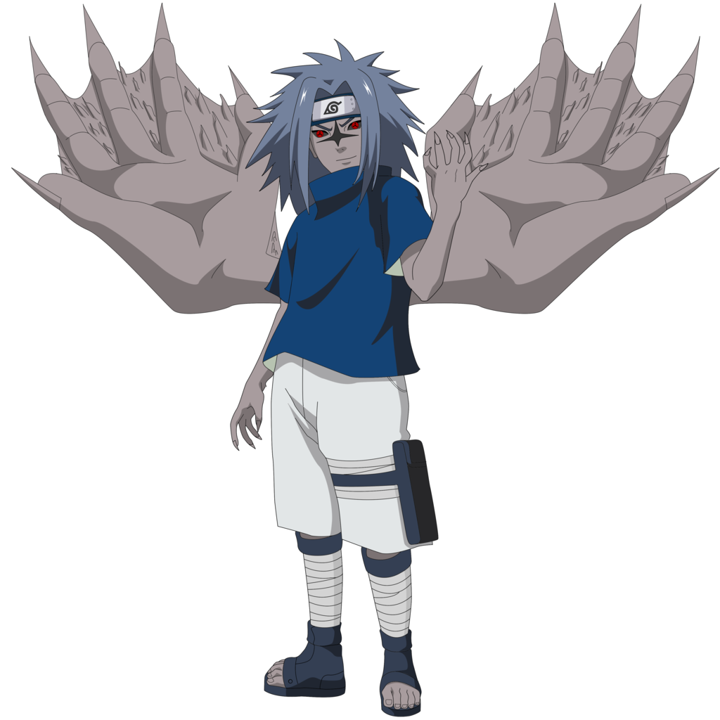 image sasuke curse seal 2 render con alas by lwisf3rxd d6s5ov6 png