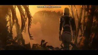 Cena do Godzilla Earth (Godzilla Monster Planet)