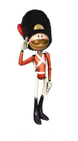 Stock Soldier Sam Render