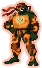 TMNT 2003 Chi Empowered Mikey (Render)