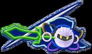 Kirby's Extra Epic Yarn-Meta Knight Artwork