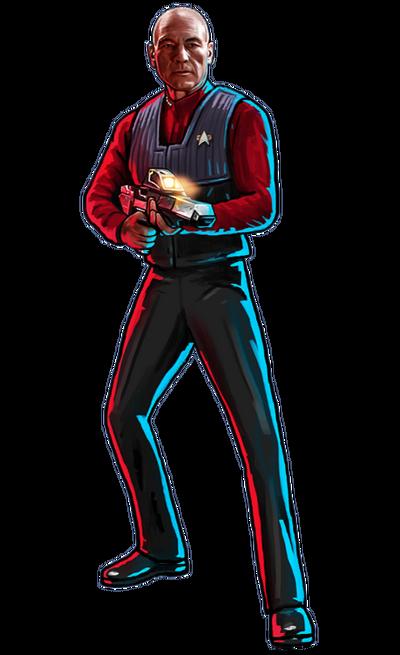 Enterprise-E Picard