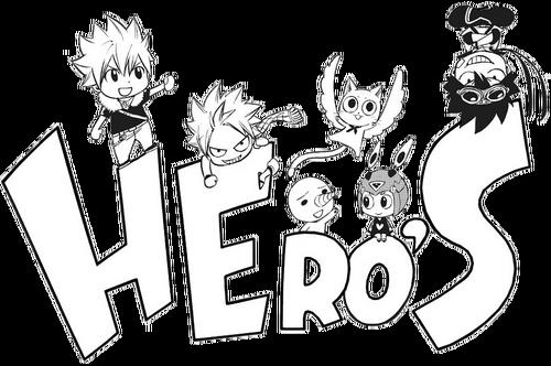 Hiro Mashima Hero's Logo