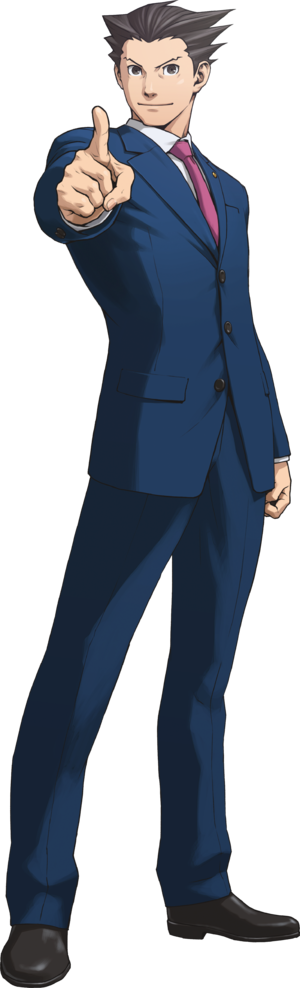 Phoenix Wright Trilogy Art