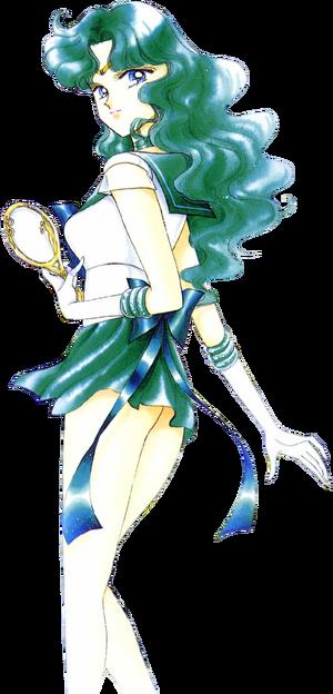 Michiru Kaiou Sailor Neptune Super Sailor Form - Manga