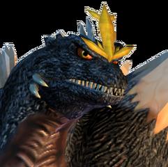Spacegodzilla (Godzilla Island)