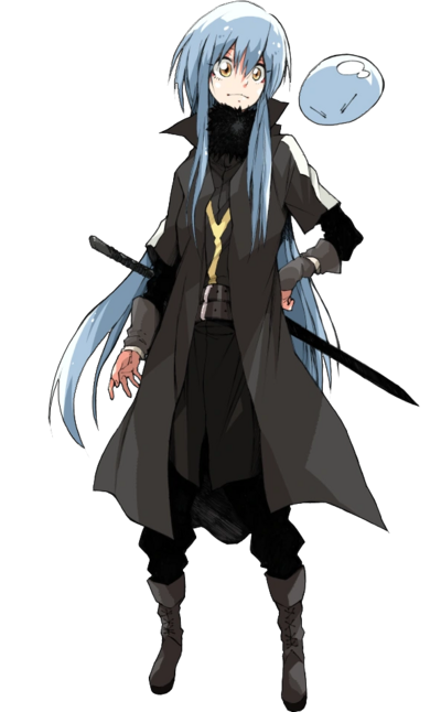 Demon Lord Rimuru Rendered Picture