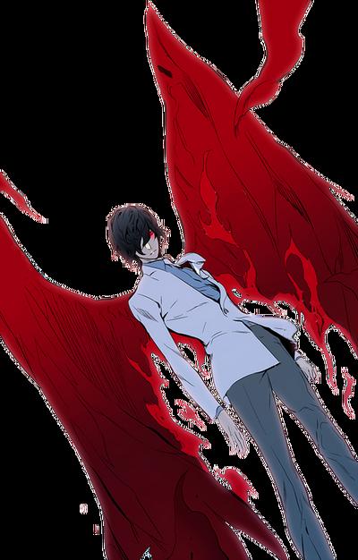 Raizel Blood Wings Render2