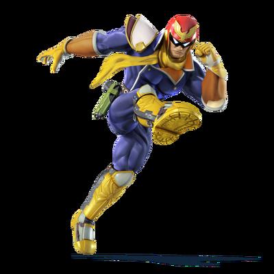 Captain Falcon character portrait