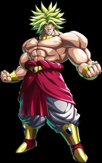 Legendary Super Saiyan Broly FighterZ
