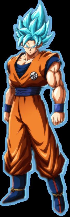 DBFZ SSB Goku Portrait