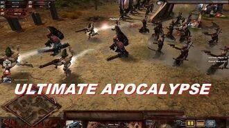 Chaos Space Marines vs Eldar! - Dawn Of War - Soulstorm - Ultimate Apocalypse