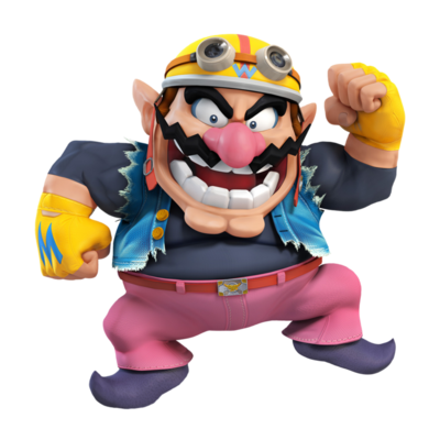 Wario ssb4 render requests wario by elemental aura-d86bx0s