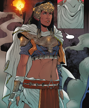 ACOC Amunet confronting Cleopatra