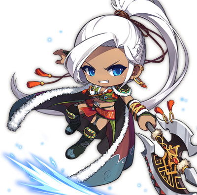 Aran MapleStory New Art
