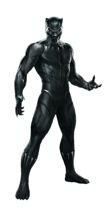 Avengers infinity war black panther png by metropolis hero1125-dc5rnbq