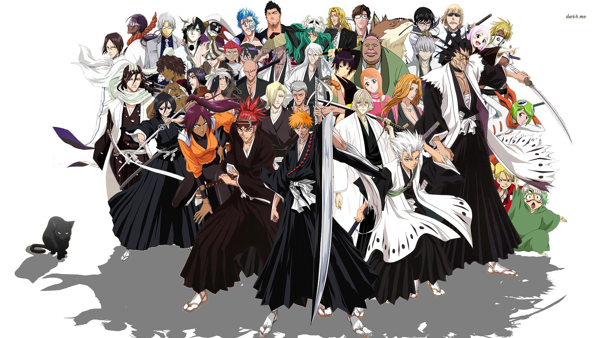 Bleach Hero Anime Wallpaper Hd