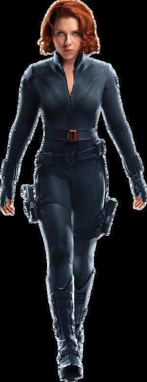 Black widow avengers transparent by davidbksandrade-da1txd0