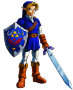 Blue link 1 oot by pheonixmaster1-d49q3lt