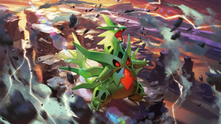 Mega Tyranitar - Pokemon TCG XY Ancient Origins