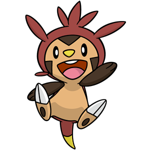Shiny chespin global link art by trainerparshen-d6v3w7g