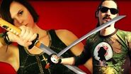 Ronin Katana Zombie Decapitations and Torture Test! Zombie Go Boom