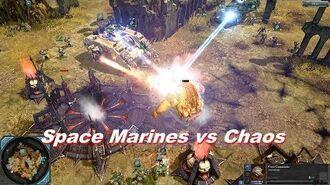 Space Marines vs Chaos Space Marines - Warhammer 40k Dawn Of War 2 Retribution - SupaEpicFun Mod-0
