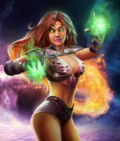 Starfire (Injustice Composite)