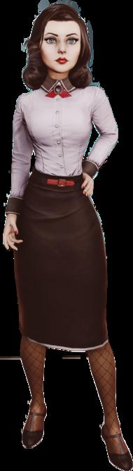 Bioshock infinite elizabeth render by ashish913 by ashish913-d6icwwi