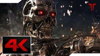 Terminator Salvation (2009) John Connor Vs T-800 Skynet Laboratory Fight 4K Ultra HD
