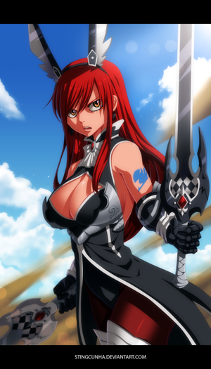 Erza scarlet Rabbit Armor