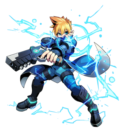 Gunvolt Artwork