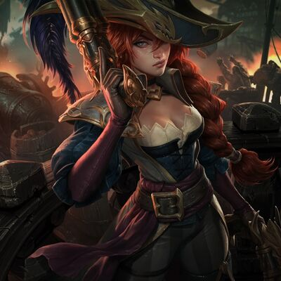 Miss Fortune CaptainSkin 2