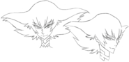 Ragyō Kiryūin face (Sketch)