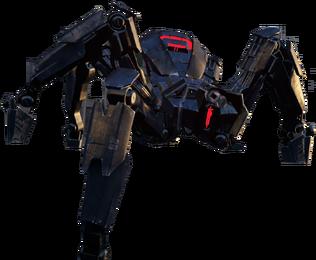 Spider TankRender