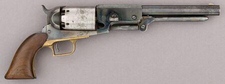 Colt Walker Percussion Revolver, serial no. 1017 MET 58.171.1 002feb2015