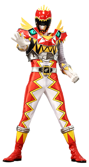 Dino Charge Red Ranger Carnival mode